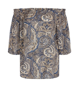 Mosmosh Ashley Pailey Blouse Paisley Print